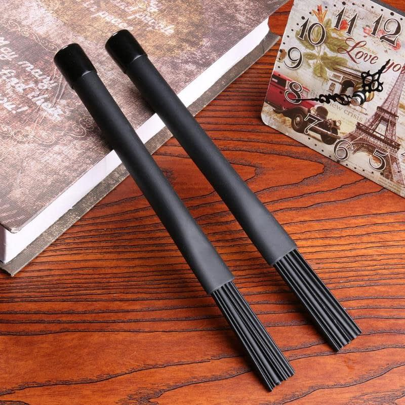 2pcs/set Retractable Nylon Jazz Drum Brushes 23cm Drum Sticks Percussion Drumsticks With Rubber Handles Musical Accessories|Parts & Accessories 5