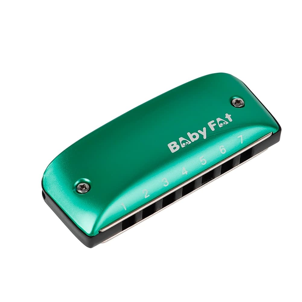 A B C D F G Key Harmonicas Music Musical Instrument 7 Holes Blues Jazz Rock Folk for Music Lovers Playing Accessory 6