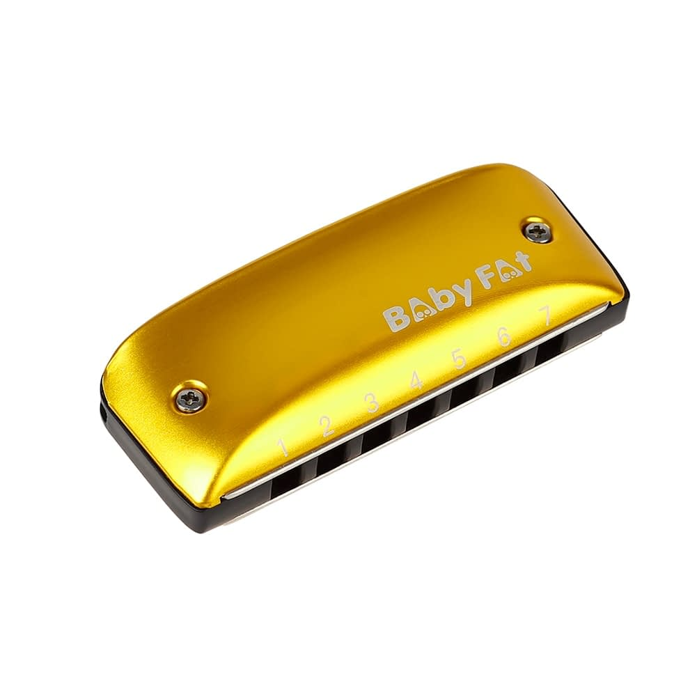 A B C D F G Key Harmonicas Music Musical Instrument 7 Holes Blues Jazz Rock Folk for Music Lovers Playing Accessory 3