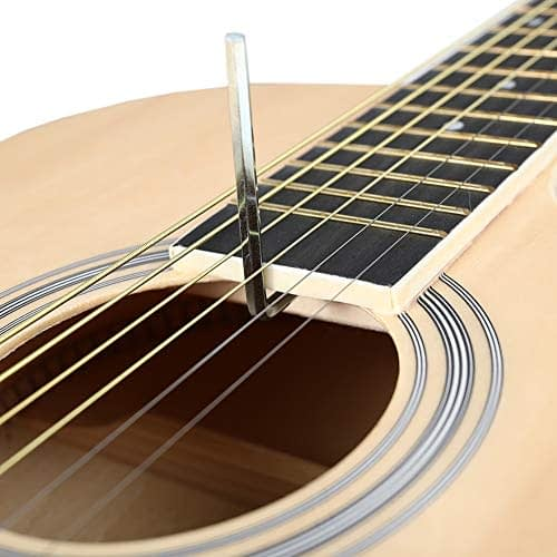 Acoustic Guitar Beginner Kid Guitar 38 Inch Steel Strings Guitar Starter Bundle Cutaway with Gig Bag Clip Tuner Strap 2 Picks and Wipe for Student Child Adult Learn to Play 5